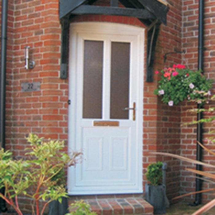 Upvc wood effect front doors upvc front doors rosewood for Upvc french doors homebase