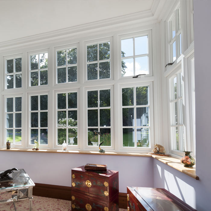 Timber Effect Double Glazing Windows