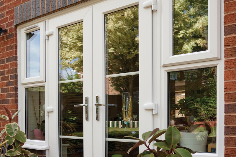 French Patio Doors External Upvc French Doors Mark Robbins Somerset