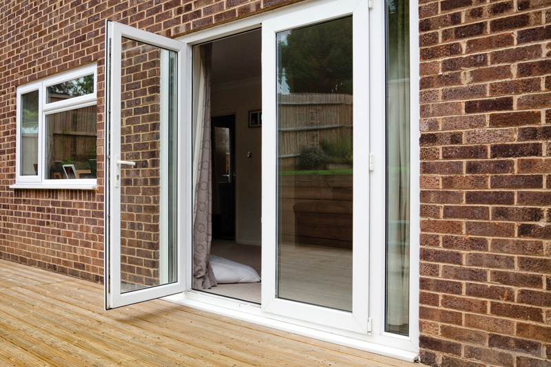 French patio doors external upvc french doors mark for Double opening french patio doors