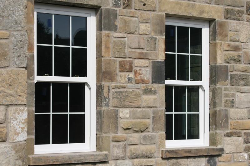 triple glazed sash windows
