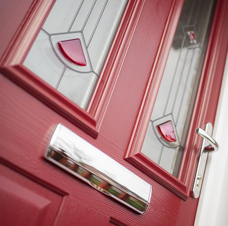 Coloured Composite Door