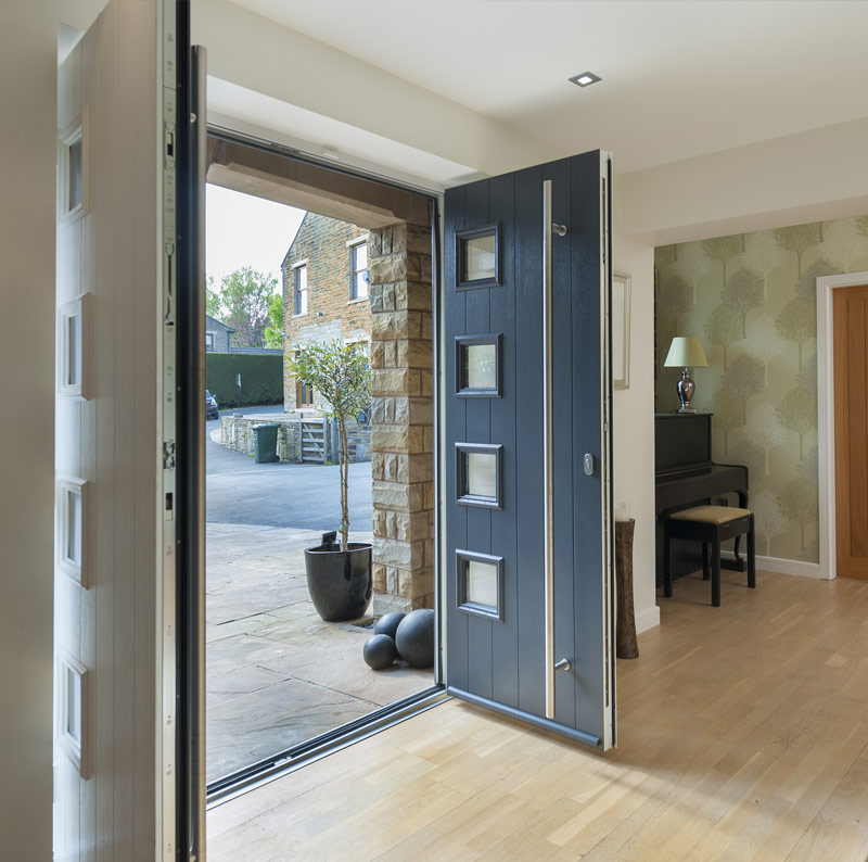 Solidor Split Front Door
