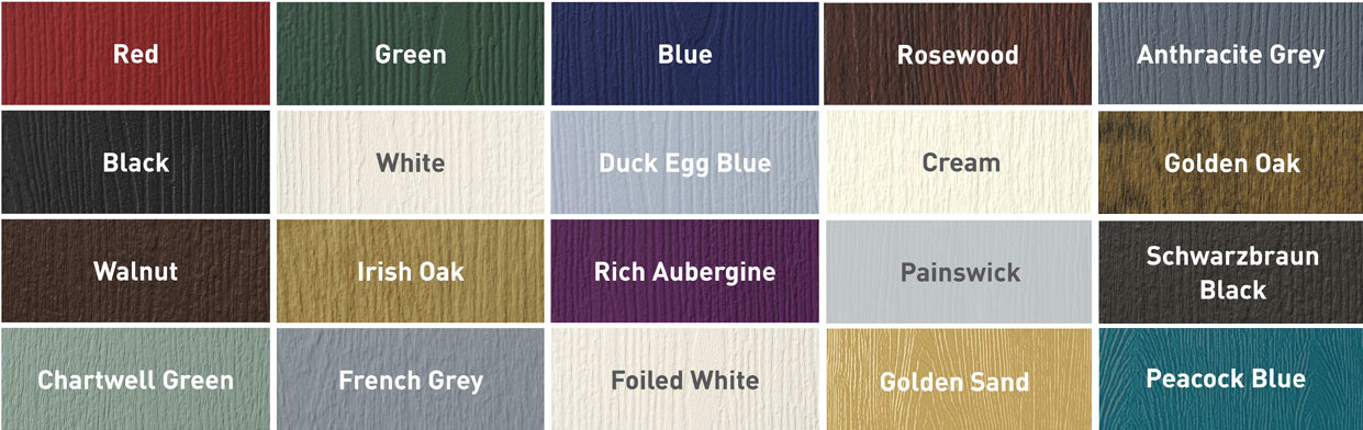 Colours for composite french doors